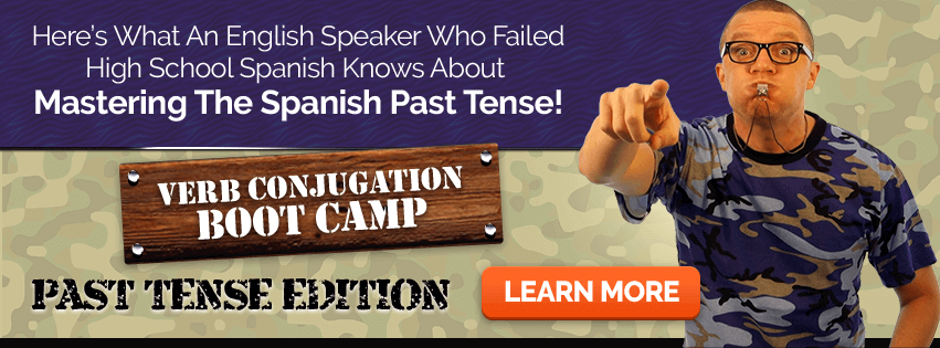 Verb Conjugation Boot Camp - Past Tense Edition