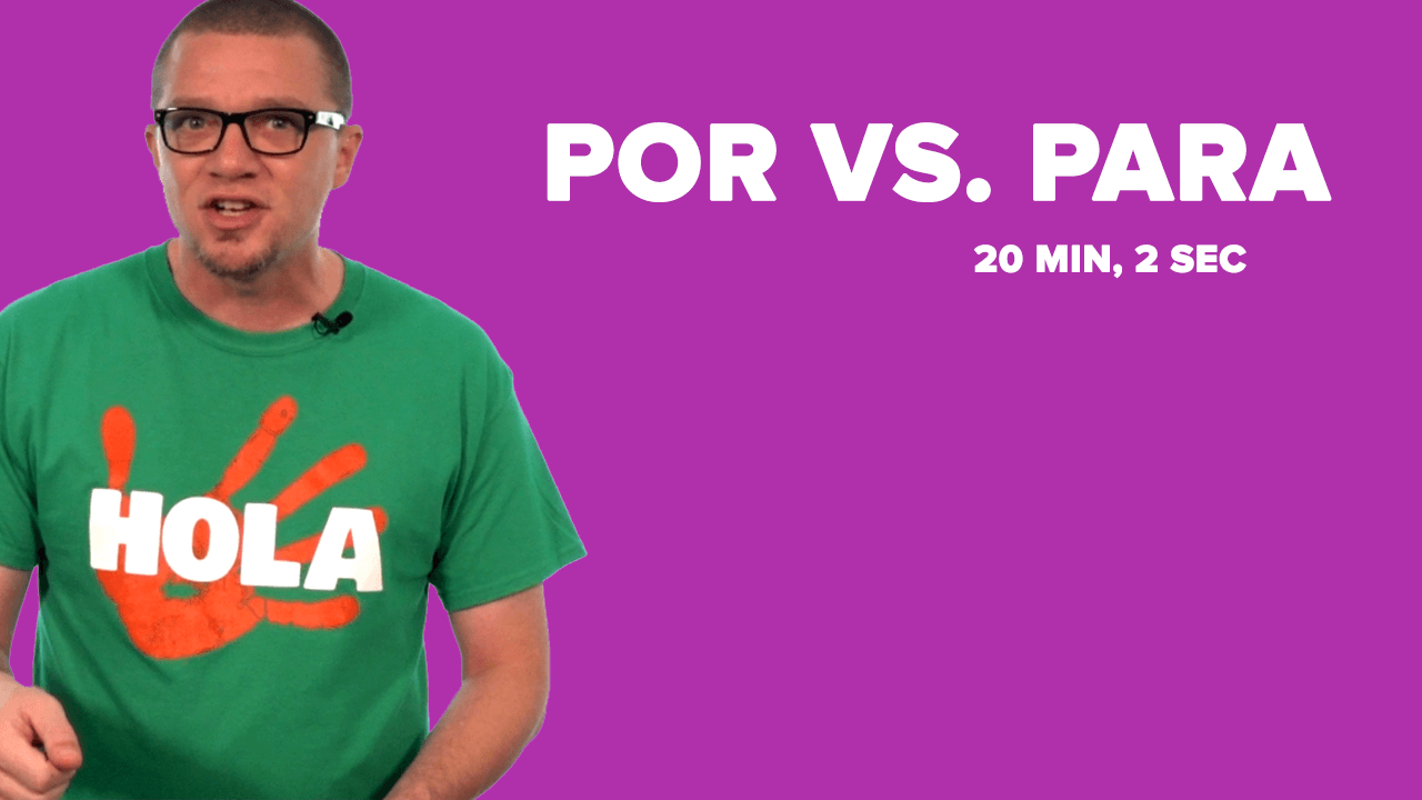 Por Vs Para An Introduction – Por and Para Worksheet